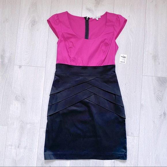 NWT Cap Sleeve Fitted Dress